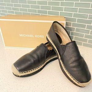 Michael Kors black espadrilles